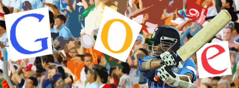 Sachin Tendulkar's 100th hundred unofficial Google doodle