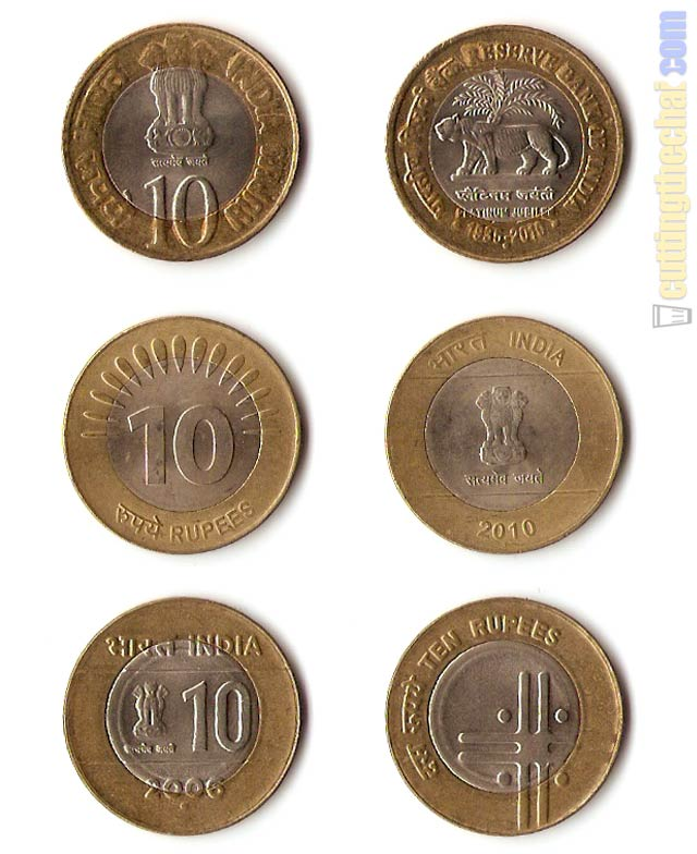 10 rs fake coin images